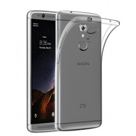 ZTE Axon 7 Silikon skal Transparent tpu mobilskal