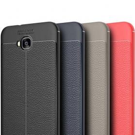 Läder mönstrat TPU skal Asus Zenfone 4 Selfie Pro ZD552KL mobilskal