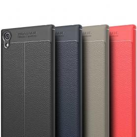 Läder mönstrat TPU skal Sony Xperia XA1 G3112 mobilskal