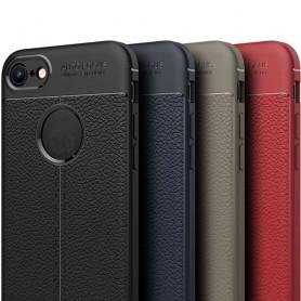 Läder mönstrat TPU skal Apple iPhone 7 mobilskal skydd