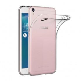 Asus Zenfone Live ZB501KL Silikon skal Transparent mobilskal