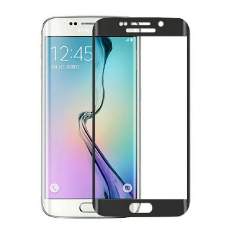 Solid tempered glass screen protector Galaxy S6 Edge