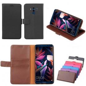 Mobilplånbok 2-kort Huawei Mate 10 PRO fodral vaska skydd