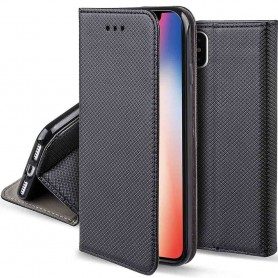Moozy Smart Magnet FlipCase Apple iPhone X mobilskal
