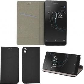Moozy Smart Magnet FlipCase Sony Xperia L1 mobilskal