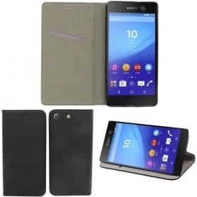 Moozy Smart Magnet FlipCase Sony Xperia M5 E5663 mobilskal