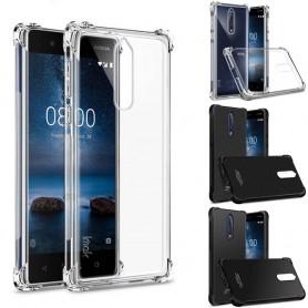 IMAK Shockproof silikon skal Nokia 8 mobilskal stöttåligt