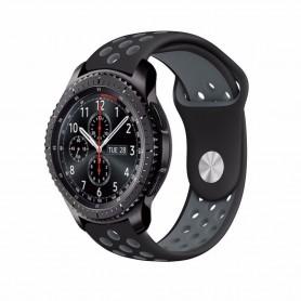 EBN Sport Armband Samsung Gear S3 Svart-Grå klockarmband