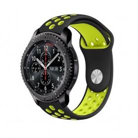 EBN Sport Armband Samsung Gear S3 Svart-Gul