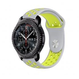 EBN Sport Armband Samsung Gear S3 Grå-Gul