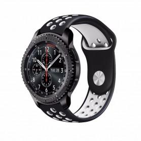 EBN Sport Armband Samsung Gear S3 svart-vit