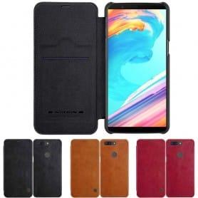 Nillkin Qin FlipCover OnePlus 5T flipfodral skydd mobilskal