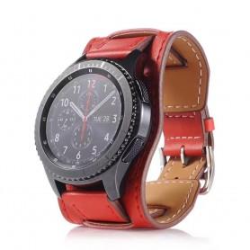 CUFF Armband Samsung Gear S3 Frontier - Classic - Röd