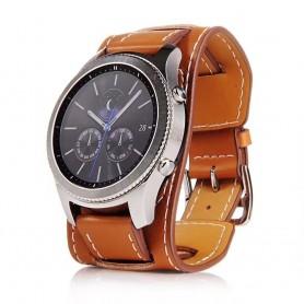 CUFF Armband Samsung Gear S3 - Brun