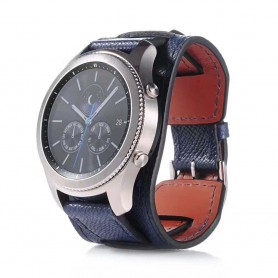 CUFF Armband Samsung Gear S3 - Mörk Blå