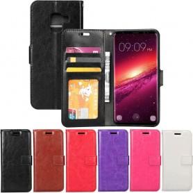 Mobilplånbok 3-kort Samsung Galaxy S9 Sm-G960 fodral mobilskal