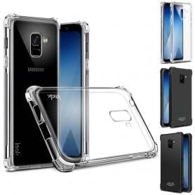 IMAK Shockproof silikon skal Samsung Galaxy A8 Plus 2018 SM-A730 mobilskal caseonline