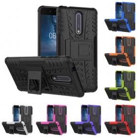 Stöttåligt skal med ställ Nokia 8 mobilskal