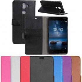 Mobilplånbok 2-kort Nokia 9 mobilskal caseonline