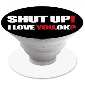 Popsocket - Mobilhållare Shut Up
