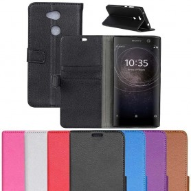 Mobilplånbok 2-kort Sony Xperia XA2 H4133 mobilskal fodral vaska