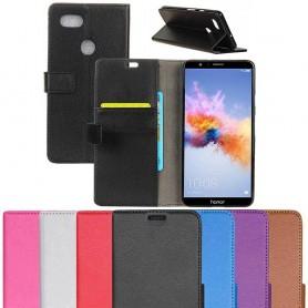 Mobilplånbok 2-kort Huawei Honor 7X BND-L21 mobilskal fodral caseonline