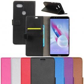 Mobilplånbok 2-kort Huawei Honor 9 Lite LLD-AL10 fodral mobilskal