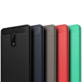 Borstat silikon TPU skal Nokia 6 mobilskal