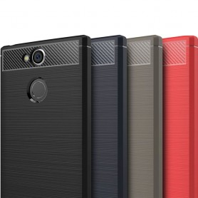 Borstat silikon TPU skal Sony Xperia XA2 H4133 mobilskal
