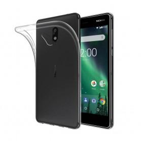Nokia 2 Silikon skal Transparent mobilskal