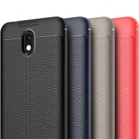 Läder mönstrat TPU skal Nokia 2 mobilskal silikonskal