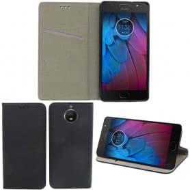 Moozy Smart Magnet FlipCase Motorola Moto G5S mobilskal fodral skydd