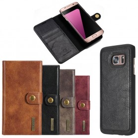 Mobilplånbok Magnetisk DG-Ming Samsung Galaxy S7 Edge mobilskal