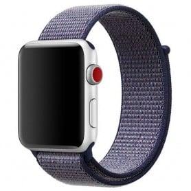 Apple Watch 38mm Nylon Armband mblå Series 1 2 3