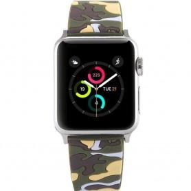 Apple Watch 38mm Camo Armband - Grön CaseOnline.se klockarmband