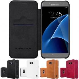 Nillkin Qin FlipCover Samsung Galaxy S7 SM-G930F mobilskal fodral CaseOnline.se
