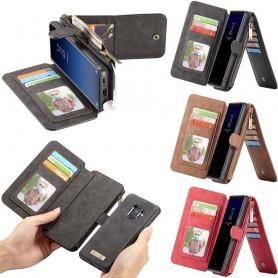 CaseMe Multiplånbok 14 kort Samsung Galaxy S9 Plus SM-G965F mobilskal CaseOnline.se
