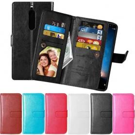 Dubbelflip Flexi mobilplånbok Huawei Mate 10 Lite RNE-L21 mobilskal