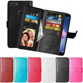 Mobilplånbok Dubbelflip Flexi Huawei P Smart fodral mobilskal