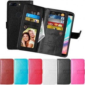 Mobilplånbok Dubbelflip Flexi 9-kort OnePlus 5T mobilskal caseonline.se