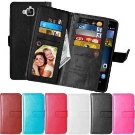 Mobilplånbok Dubbelflip Flexi 9-kort Huawei Y6 Pro TIT-L01 mobilskal caseonline.se