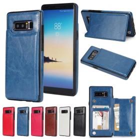 Mobilskal Flipwallet 2-kort Samsung Galaxy Note 8 mobilplånbok fodral skal