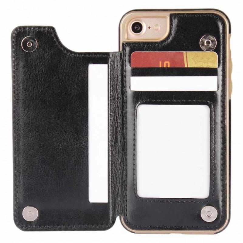 Köp FlipWallet skal med kortplatser Apple iPhone 7   8 - CaseOnline.se b0257e7bbb767