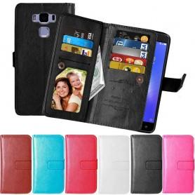 Mobilplånbok Dubbelflip Flexi 9-kort Asus Zenfone 3 Max ZC552KL