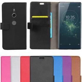 Mobilplånbok 2-kort Sony Xperia XZ2 mobilskal fodral caseonline