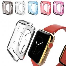 Apple Watch 38mm Silikon skal olika färger skydd tillbehör CaseOnline.se