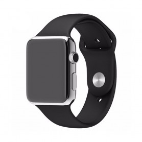 Apple Watch 42mm Sportband-Svart