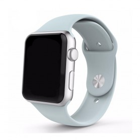 Apple Watch 42mm Sportband-Ljusblå