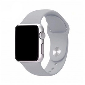 Apple Watch 42mm Sportband-Ljusgrå