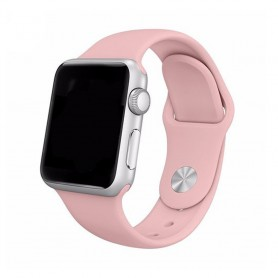 Apple Watch 42mm Sportband-Ljusrosa